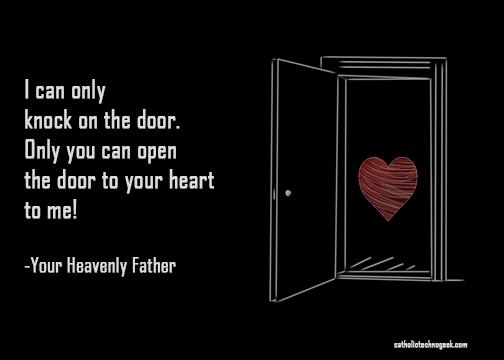Open The Door Catholictechnogeek Com