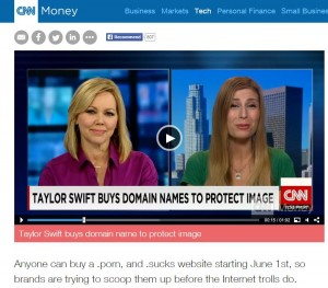 CNN Money Website